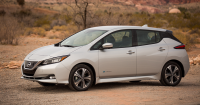 2018 Nissan Leaf Adds Range, Tech