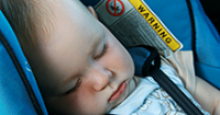 Annual campaign promotes car seat safety for the littlest passengers