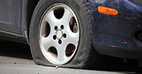 Spare Tire Can Leave Family Out in the Cold During Holiday Travel
