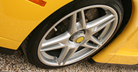 Wheel repair brings new life to scraped, dented rims
