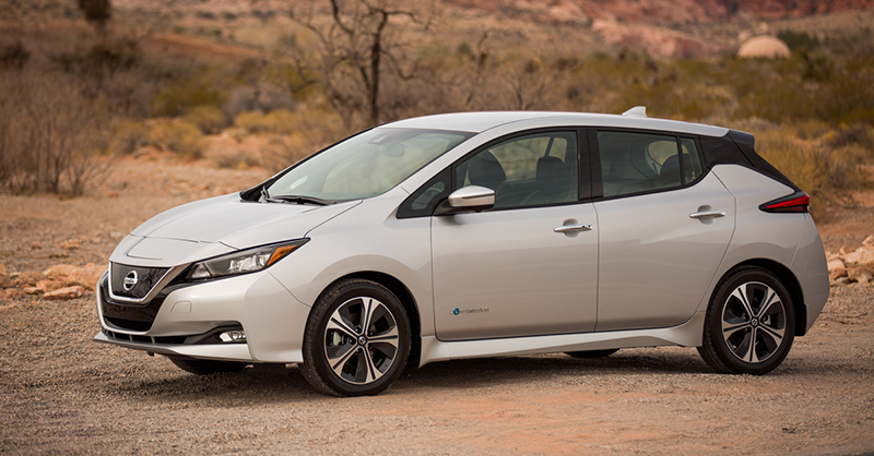 The All New 2018 Nissan Leaf Provides Even More Range On One Charge Than  Previous Models As Well As Advanced Driver Assistance Technology To Deliver  A ...