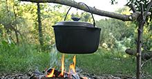 Versatile Dutch Oven Expands Camp Mealtime Menu