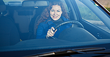 Get a clear view by keeping windshield clean