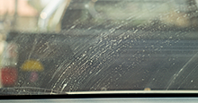 Replace wipe blades to reduce window streaking