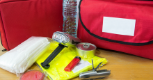 Start Winter Safety Kit With Household Items