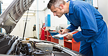 Cars making unusual noises should be inspected