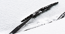 Heated wipers tackle ice and snow